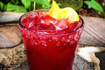 Blackberry Tarragon Margarita
