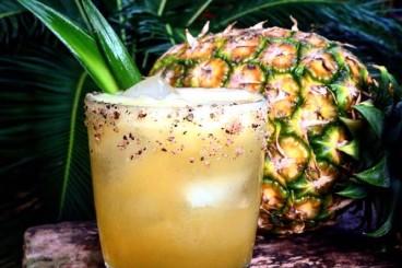 Smoked Pineapple Margarita