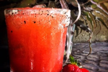 Strawberry Pepper Margarita